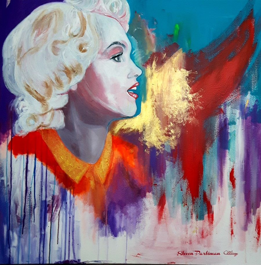 Marilyn Monroe painting is named Exquisite
