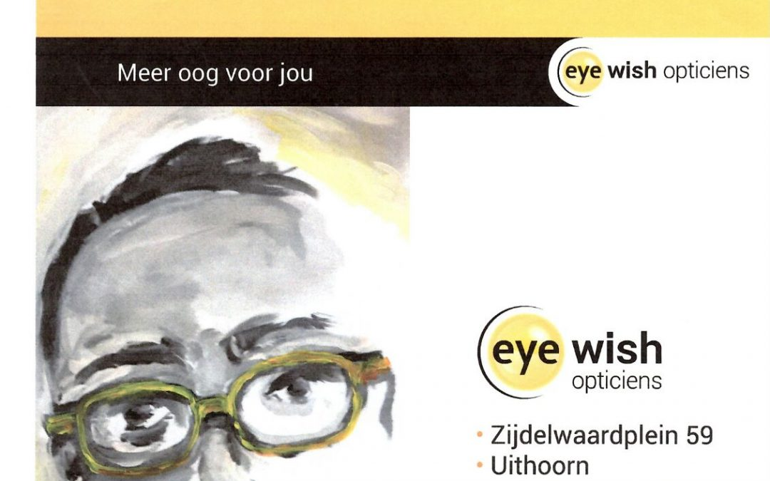 Brilportret Eye Wish Opticiens